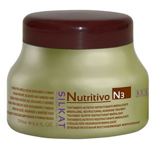 Bes Silkat trattamento nutritivo (N3) - Kem dinh dưỡng Silkat khoáng chất và tái cấu trúc với hạt lanh